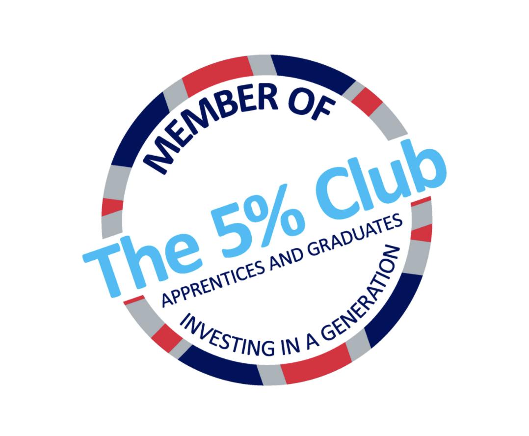 The 5% Club, company logo